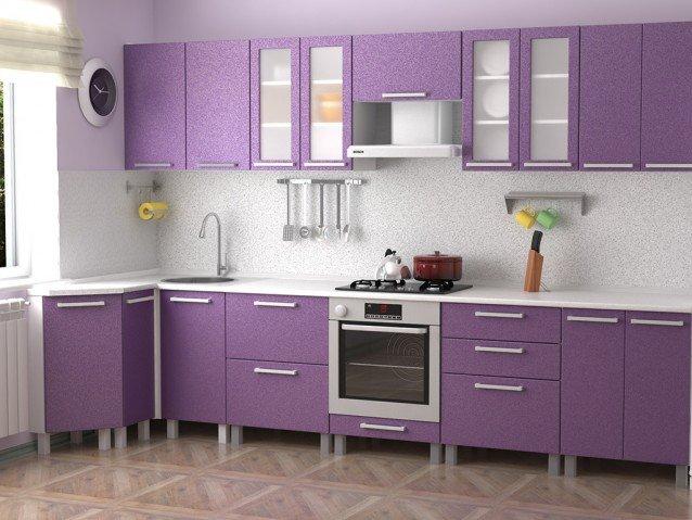 Кухня Фиолетовый металлик