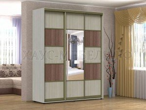 Шкафы с алюминиевой системой