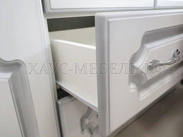 Шкаф Белый Жемчуг ШР-4 без зеркал