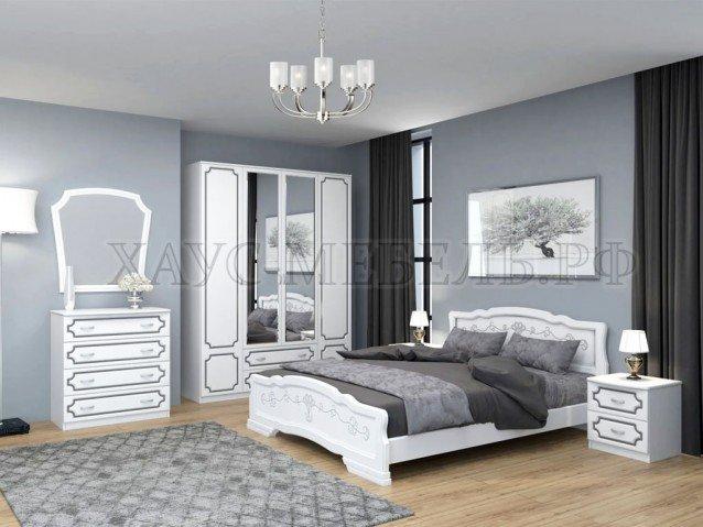 Спальный гарнитур Белый Жемчуг