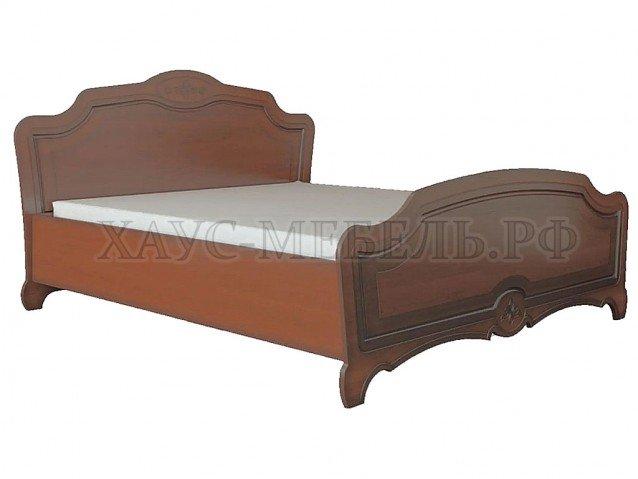 Кровать Лотос орех 1600 мм.
