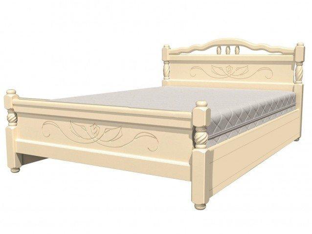 Кровать Карина 5 Слоновая кость