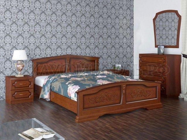 Кровать Елена Орех