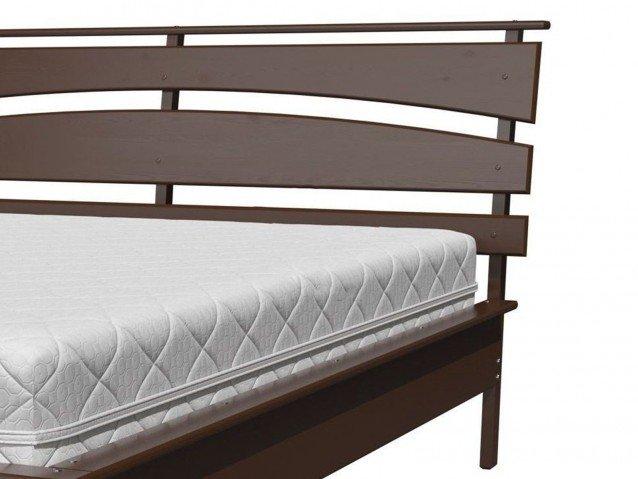 Кровать Камелия 4 Орех
