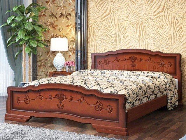 Кровать Карина 6 Орех