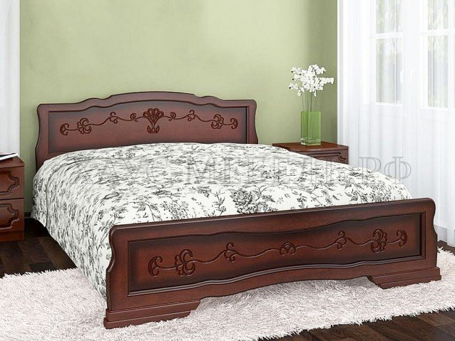 Кровать Карина 6 Тахта Орех