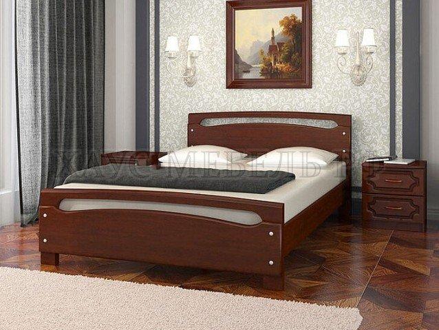 Кровать Камелия 2 орех