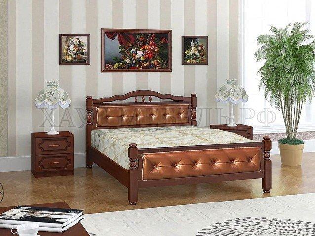 Кровать Карина 11 орех