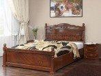 Кровать Карина 14 с ПМ Орех