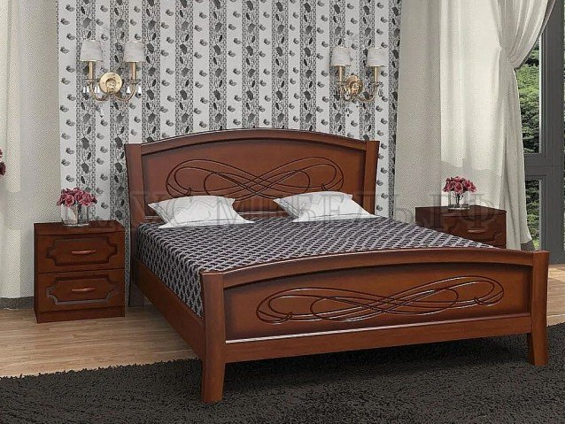 Кровать Карина 16 Орех