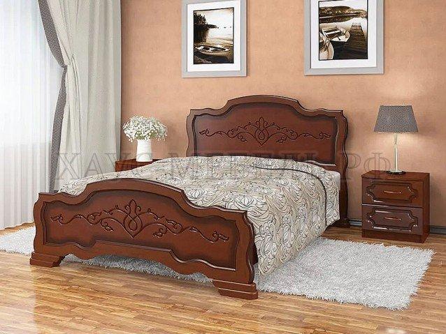 Кровать Карина 17 Орех