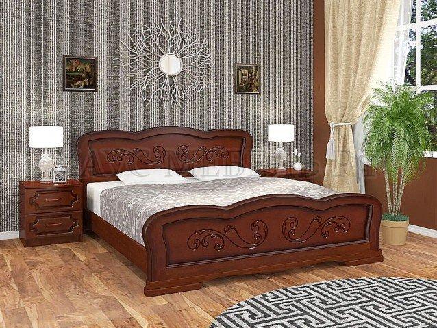 Кровать Карина 8 Орех
