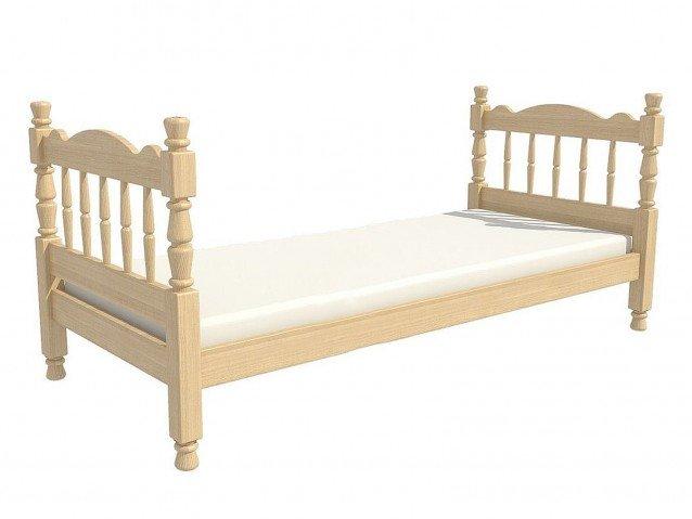 Кровать Алёнка одинарная сосна