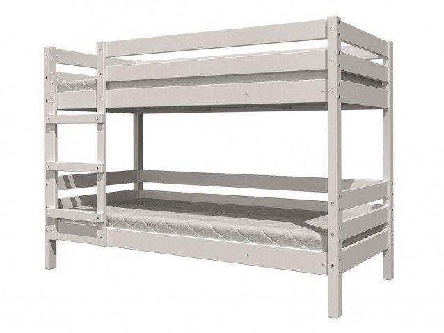 Кровать Джуниор двухъярусная Белый Античный