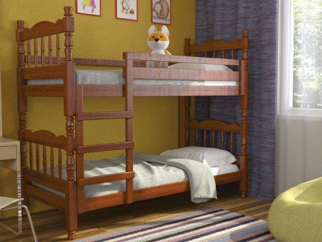 Кровать двухьярусная Соня Орех