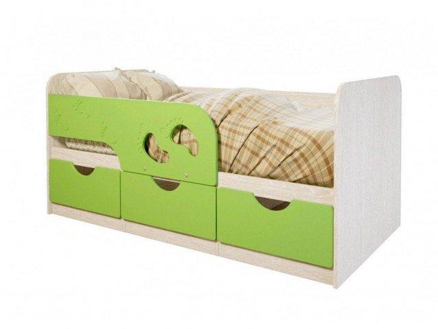 Кровать детская Минима лего лайм
