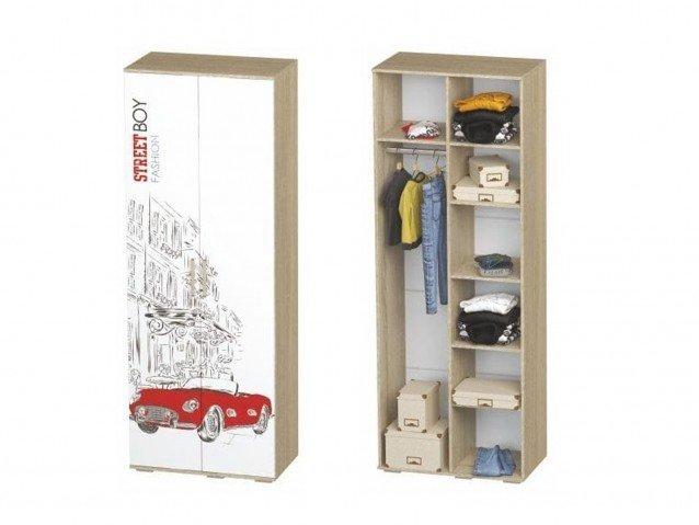 Шкаф для одежды ШК-09 Сенди для мальчика