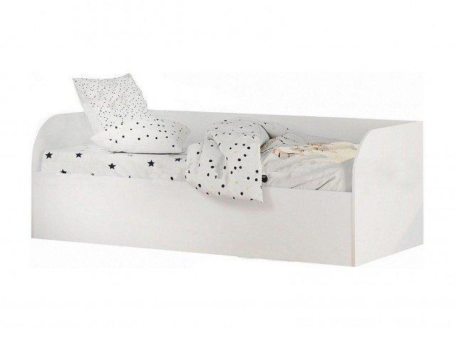 Кровать детская с ПМ КРП-01 Трио белый