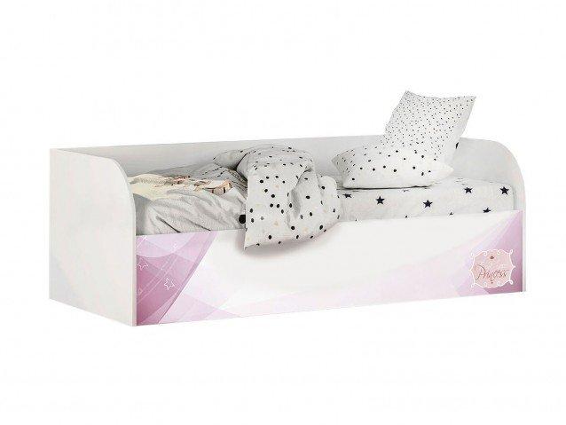 Кровать детская с ПМ КРП-01 Трио рапунцель