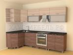 Кухня угловая ЛДСП 4200 мм.