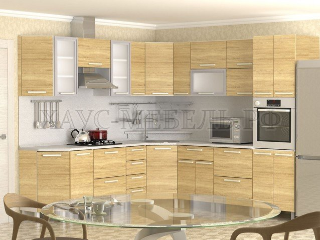 Кухня Дуб Сонома
