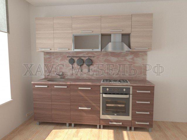 Кухня ЛДСП 2400 мм. №2