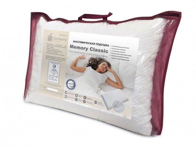 Анатомическая подушка Memory Classic