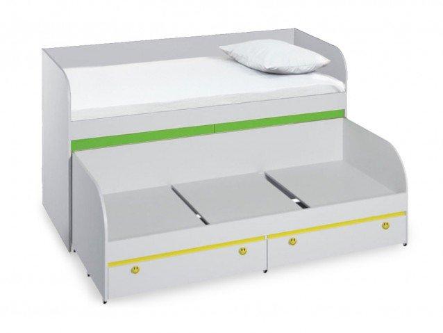 Кровать детская двухъярусная КР-06 Мамба