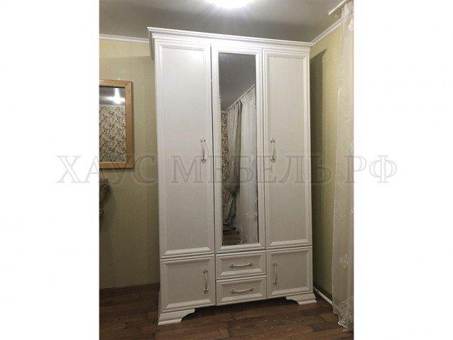 Шкаф Грация ШР-3 ( лак ) 1 зеркало