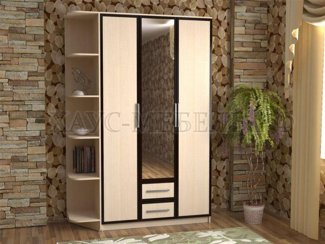 Шкаф 3-створчатый 4