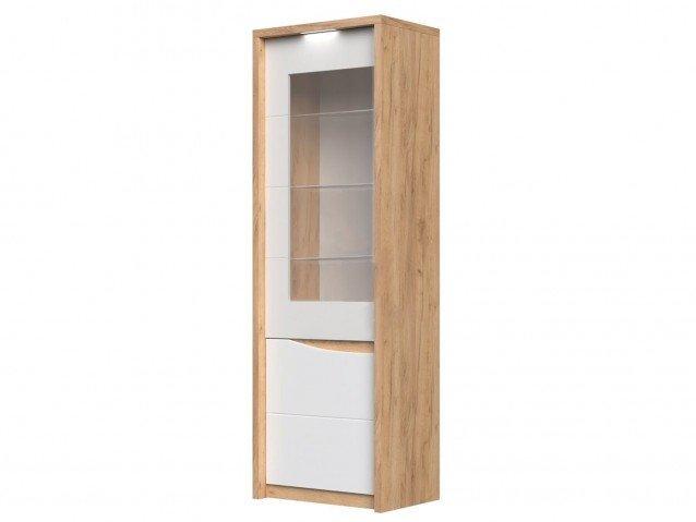 Шкаф с витриной Сицилия левый