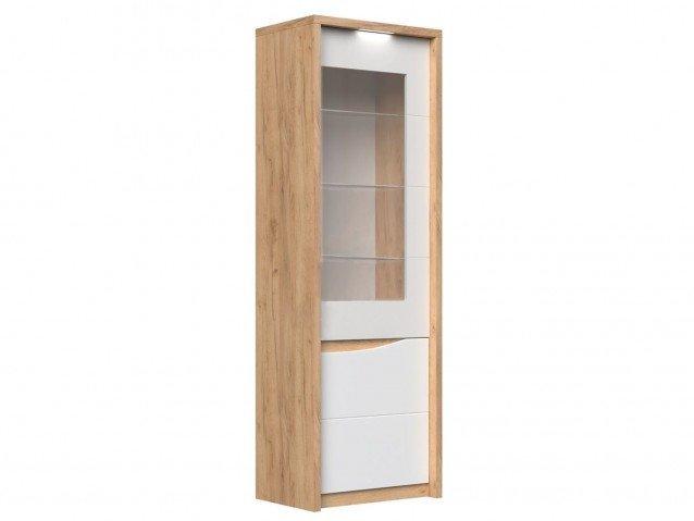 Шкаф с витриной правый Сицилия