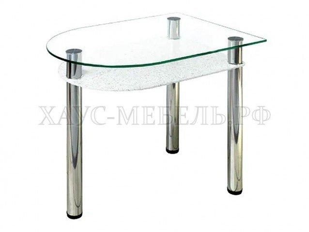 Стол обеденный Белый камень ( в наличии )