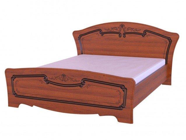 Кровать Магия Орех лак