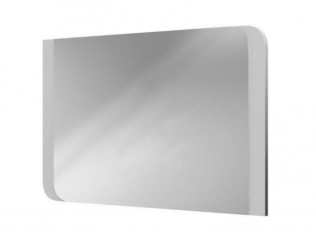 Зеркало Вива Белый глянец/Платина